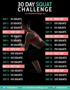 30 dages squat-udfordring